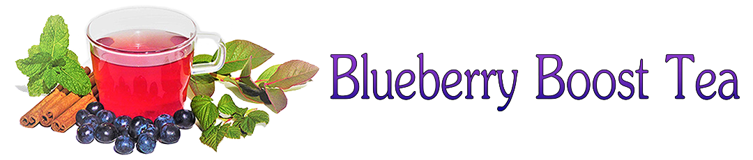 Blueberry Boost Tea header